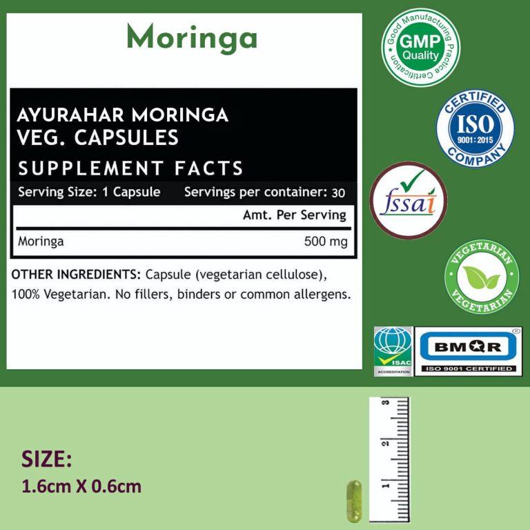 Moringa Label